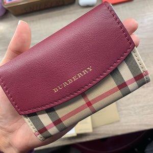 Burberry card case